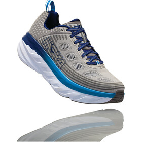 Hoka One One Bondi 6 Running Shoes Men Vapor Blue/Frost Gray